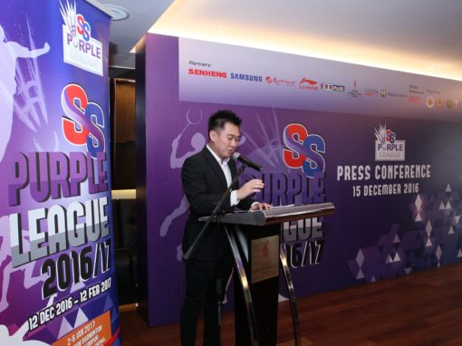 SS Purple League 2016/17 Sponsor Press Conference – 15 December 2016 @ Pearl International Hotel Kuala Lumpur
